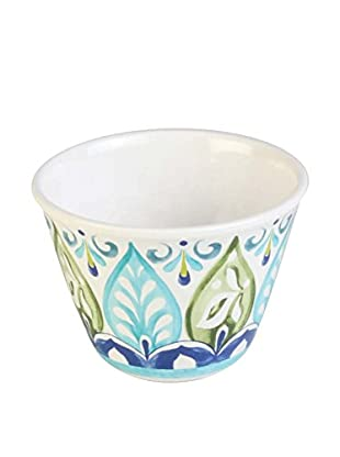 Mediterranean Tile Melamine Dip Bowl, Multi