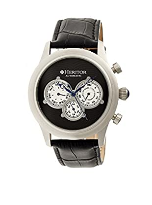 Heritor Automatic Uhr Earnhardt Herhr3102 schwarz 46  mm