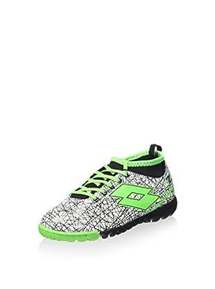 Lotto Sportschuh Lzg Vii 500 Tf Jr weiß/neon grün EU 33