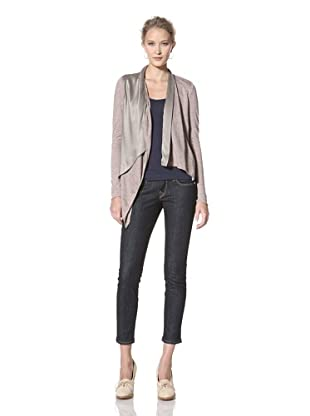 Line & Dot Women's Layer Up Cardigan (Mocha)
