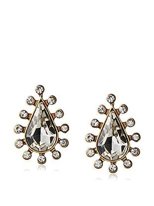 David Aubrey Crystal Teardrop Earrings