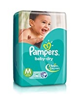 Pampers Medium Size Diapers ( 42Count)