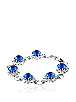 SWAROVSKI ELEMENTS Armband Saton blau
