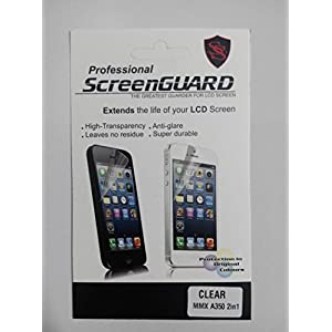 2in1ULTRA CLEAR FINISH FOR MICROMAX CANVAS KNIGHT A350 SCREEN GUARD FRONT + BACK