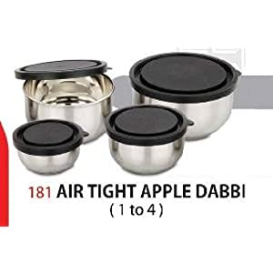 Raaj Apple Air Tight Container - Size 3