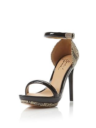Mark + James Women's Ritchie Platform Sandal (Black/Natural)
