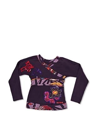 Desigual Camiseta Astronomoa (Morado Oscuro)