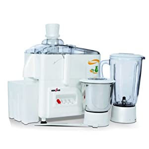 Kenstar Swift KJS50W2A Juicer & Mixer-White