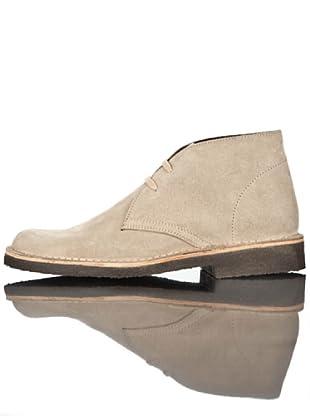 British Passport Zapatos Botín (Beige)