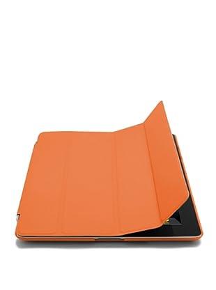 Unotec Funda Para iPad2/3/4, Protección Total Y Soporte Naranja