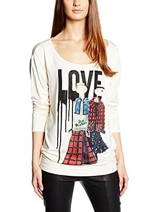 Love Moschino Camiseta Manga Larga