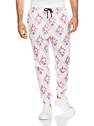 Mr. Gugu & Miss Go Pantalone Felpa Unisex Blue&Pink