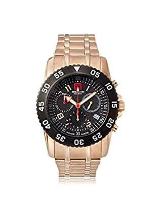Swiss Military Calibre Men's 06-5C6R Chronograph Rose/Black Stainless Steel Watch