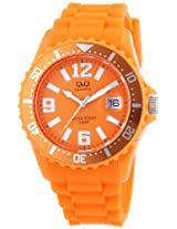 Q&Q Analog Orange Dial Women's Watch - A430J005Y