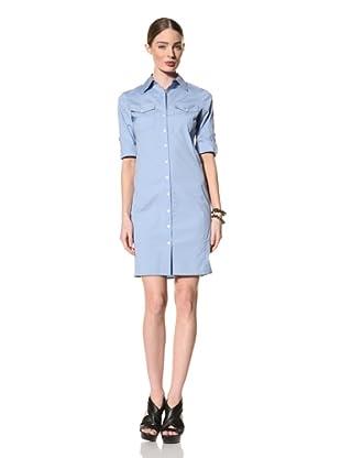+Beryll Women's Shirt Dress (Blue)