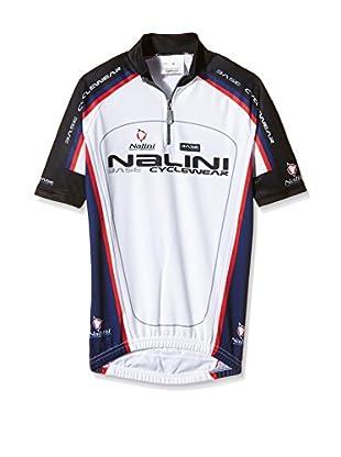 Nalini Fahrradshirt Antracite weiß/marine 12 Jahre (152 cm)