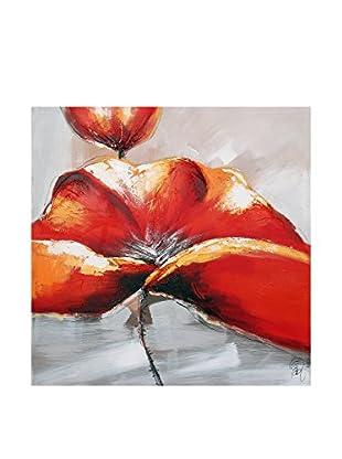 Arte dal Mondo  Wandbild Edgar Ramirez Fiore Rosso