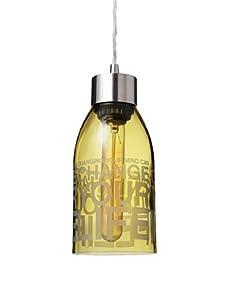 Inhabit Reclaimed Bottle Pendant Light (Change Your Life)