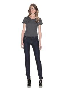 DL 1961 Premium Denim Women's Britney Slim Straight Leg Jeans (Nile)