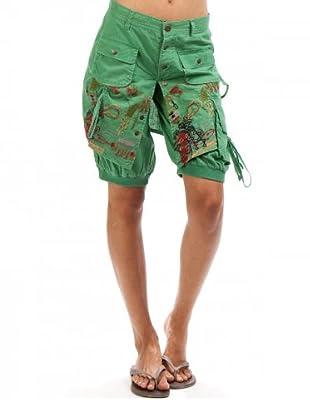 Desigual Shorts Corine (Verde)