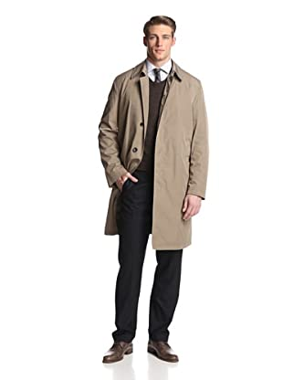 Sanyo Men's Single Breasted Trench 40