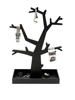 Present Time Dress Up Jewelry Tree, Black