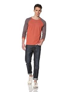 Benson Men's Baseball Sweatshirt (Red)