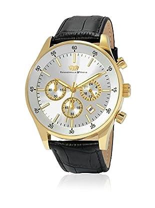 Rhodenwald & Söhne Uhr mit Japanischem Quarzuhrwerk 10010072 schwarz 45  mm