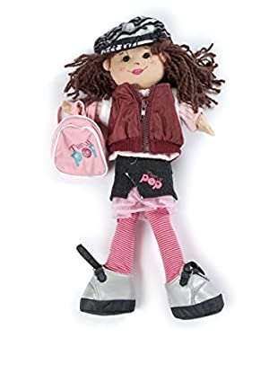 My Doll Muñeca Amylee 1 TA005 Burdeos