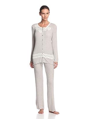 Valery Sleepwear Women's Cinderella Night Gown (Beige)