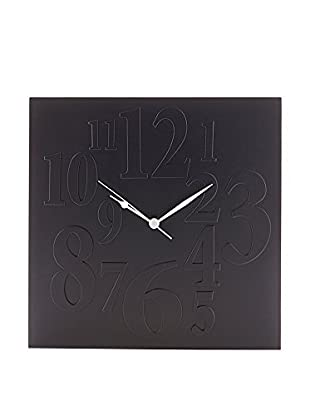 Contemporary Home Reloj De Pared Mix Negro