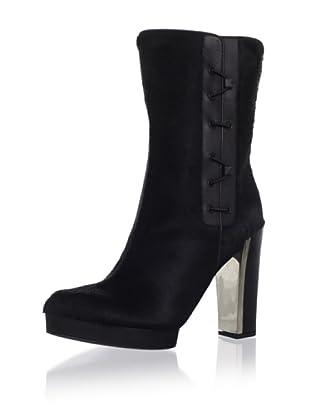 Calvin Klein Collection Women's Darla Side Lace Bootie (Black)