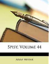 Spisy, Volume 44