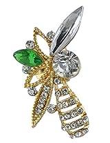 YouBella Trendy Gold Plated Austrian Crystal Earcuff