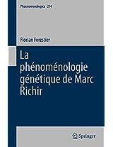 La phénoménologie génétique de Marc Richir (Phaenomenologica)
