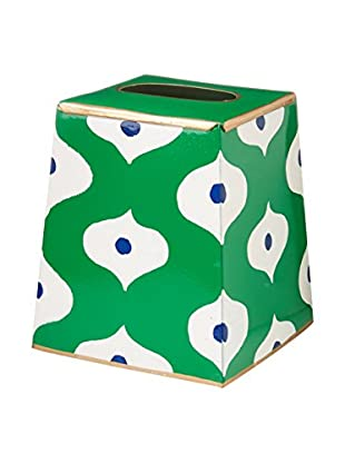 Jayes Sloane Tissue Box Cover, Green