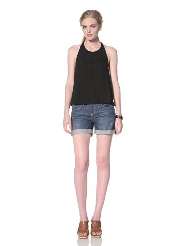 Dolce Vita Women's Monico Halter Top (Black)