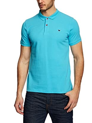 Weekend Offender Polo Casual (Azul Cian)