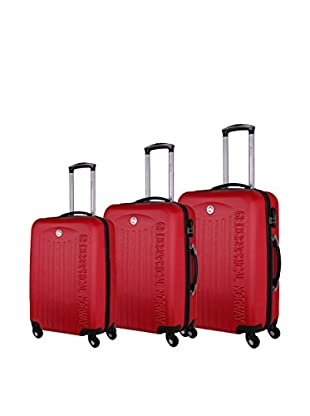 Geographical Norway Set de 3 trolleys rígidos Seychelle