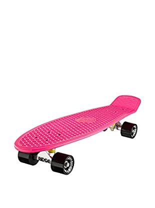 Ridge Skateboards Monopatín Big Brother Cruiser Fucsia / Negro