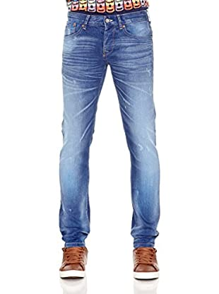 Pepe Jeans London Vaquero Bannon (Azul)