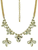Peora Crystal Cluster Necklace (PXN55)