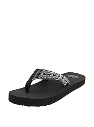 Reef Chanclas Smoothy (Gris/Negro/Blanco)