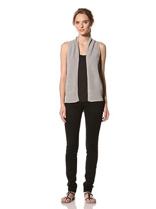 Rogan Women's Duncan Sweater Vest (Light Heather Grey)