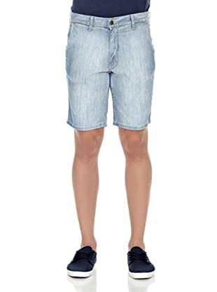 Carrera Jeans Bermuda 7 1/2 Oz (Azul Lavado)
