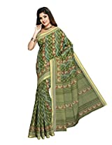 Suhanee Cotton Saree (Suhagan - 1013 _Green)
