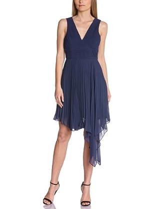 Manoukian Vestido Colofón (Azul Noche)