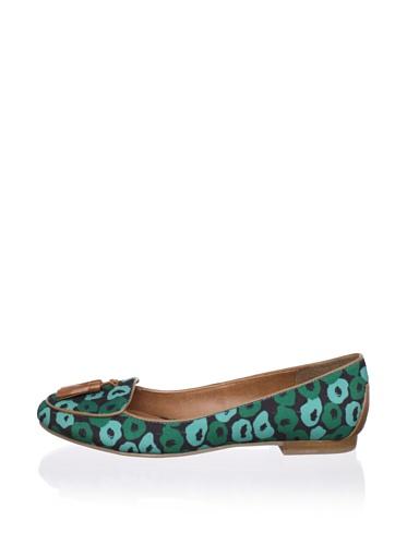 DV by Dolce Vita Women's Damala Loafer (Mint Floral)