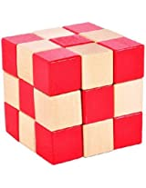 Shopaholic 3*3 Wooden Cube - 2 coloured