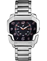 Fastrack Speed Racer Analog Watch - For Men Silver - 3079SM02